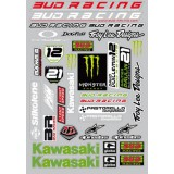 Planche stickers Bud Racing team 09