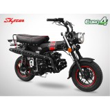 Moto DAX 125 - SKYTEAM - Black Edition - Noir Mat
