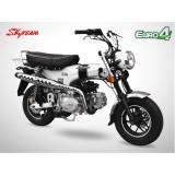Moto DAX 125 - SKYTEAM - Blanc