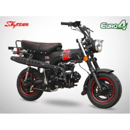 Moto DAX 50 - SKYTEAM - Black Edition - Noir Mat