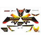 Kit déco Rockstar pour CRF50