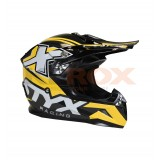 CASQUE ENFANT STYX RACING TAILLE YL JAUNE