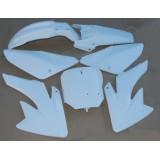 Kit plastique blanc pour CRF 70