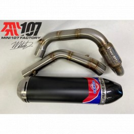 Single Black embout carbone SERIE 7 BUCCI F6-F15R