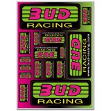 Planche stickers Bud Racing Classic Logo